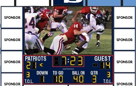 Kelly Sports scoreboard