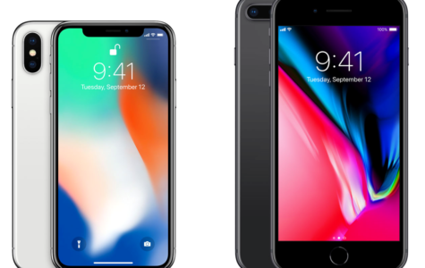 Preview of iPhone 8 and X