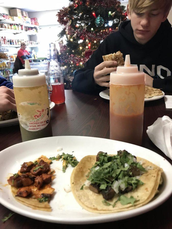 Beef+Tongue+and+Al+Pastor+tacos+at+El+Toluco.+