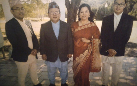 Hemal is proud of Nepalese roots