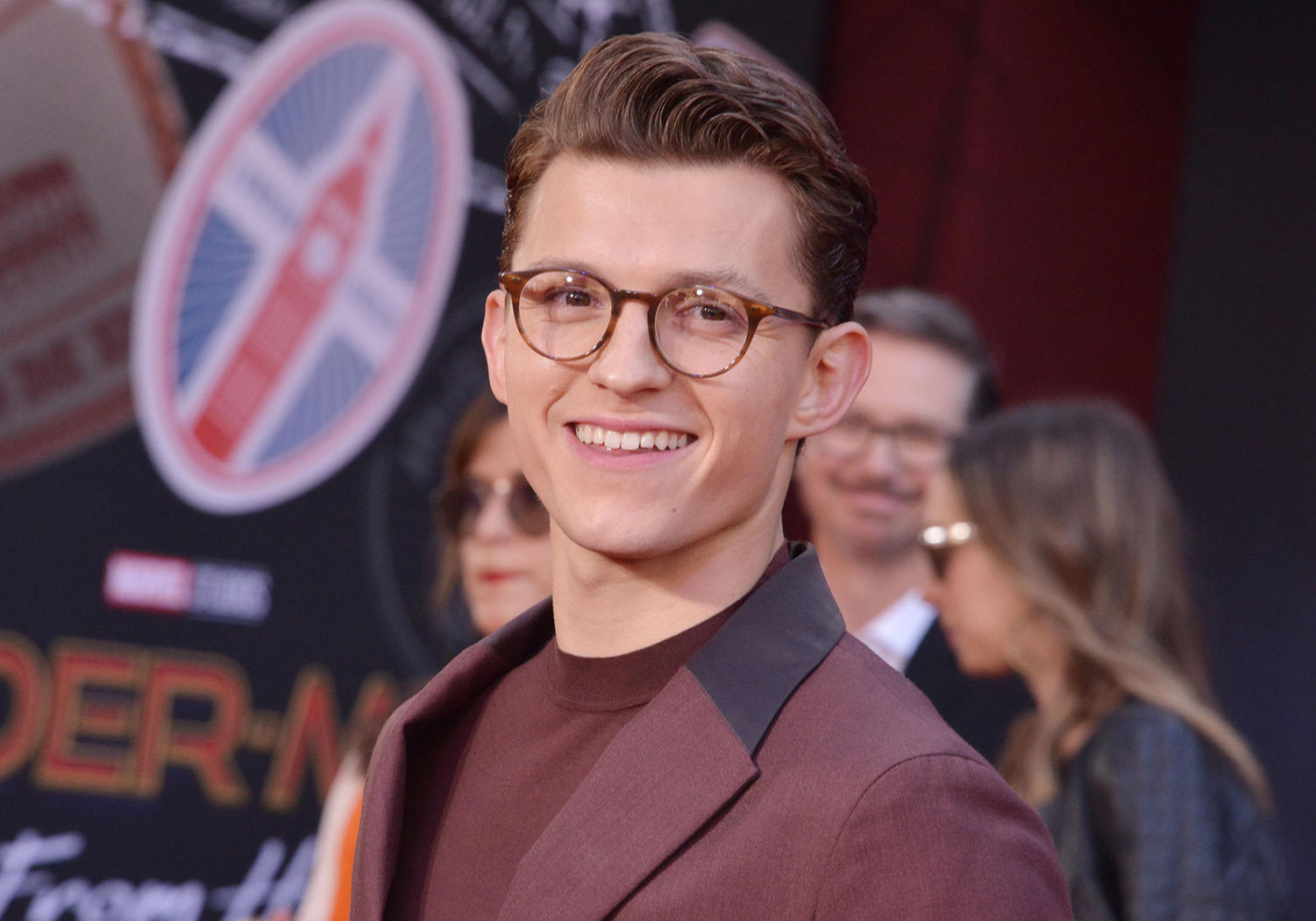 Tom Holland at the SPIDER-MAN FAR FROM HOME Los Angeles Premiere held at the TCL Chinese Theater in Hollywood, CA on Wednesday, June 26, 2019.