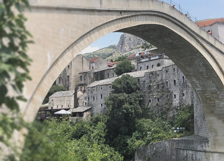 Stari Most is the name of this famous bridge in Bosnia.
