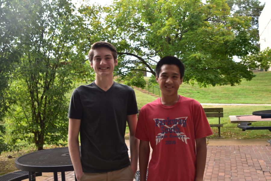 Matthew Christofferson and Jeffrey Ying