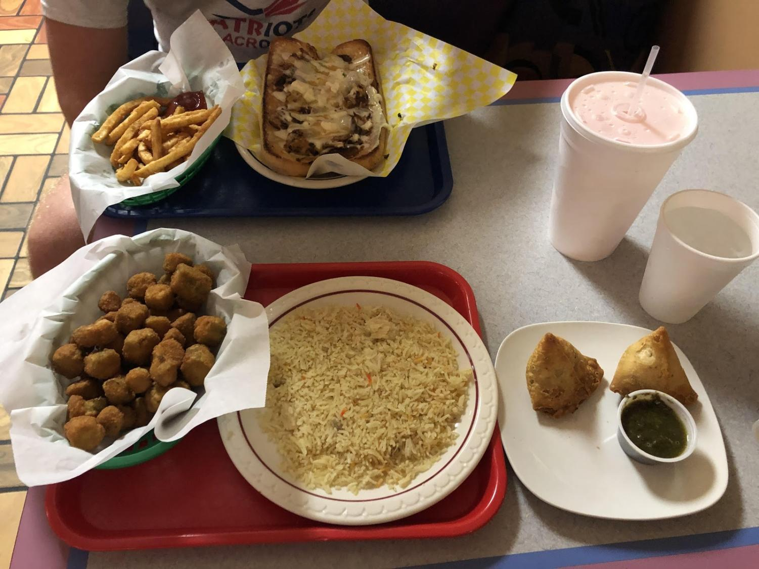 Here is a sampling of some of the food you can order at Taco and Pita Grill.