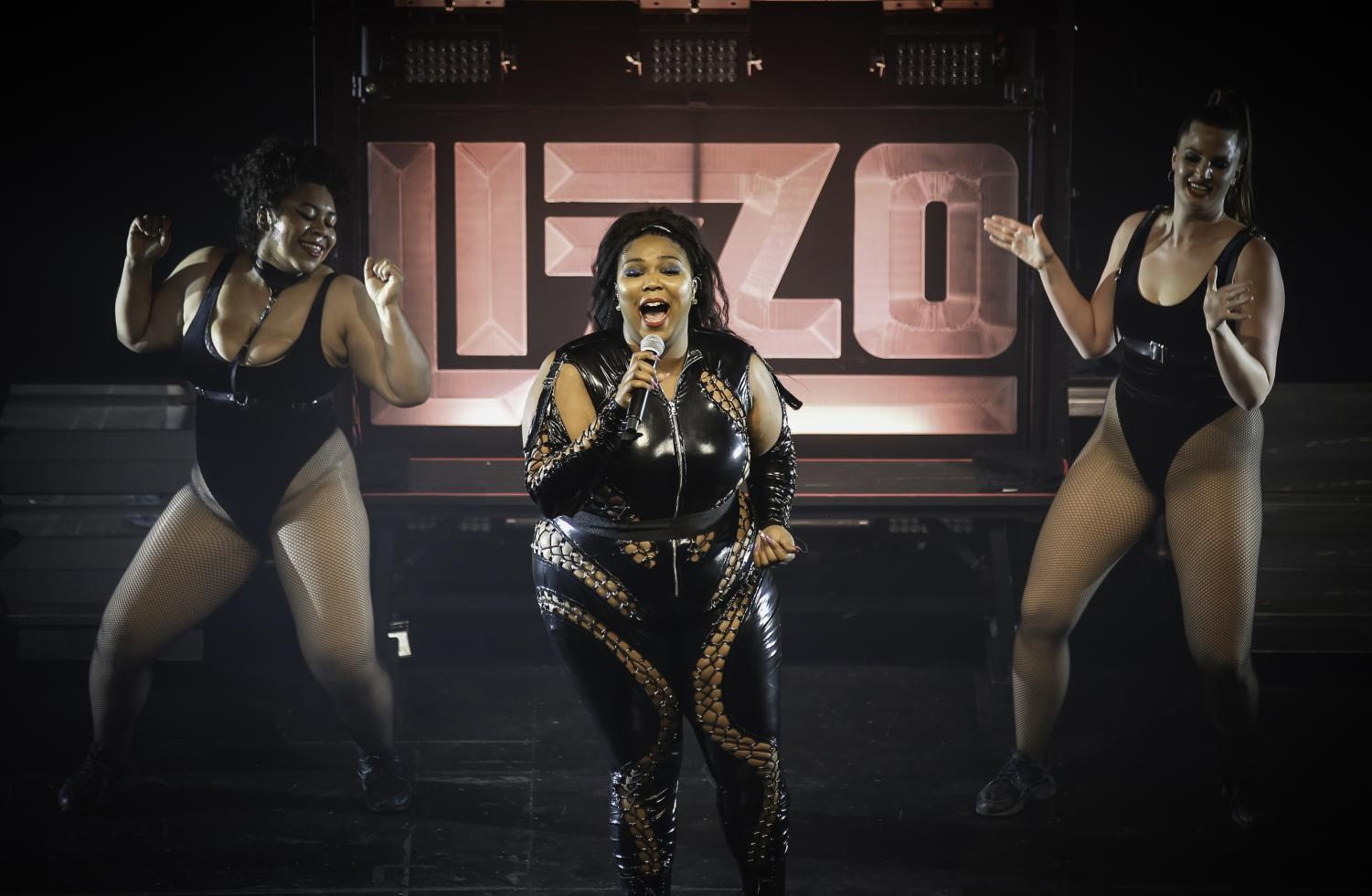 Lizzo performs at the Palace Theater in St. Paul, Minnesota in 2018.