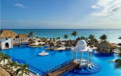 An arial shot of the Now Sapphire Riviera Cancun resort where some seniors will be traveling for spring break.